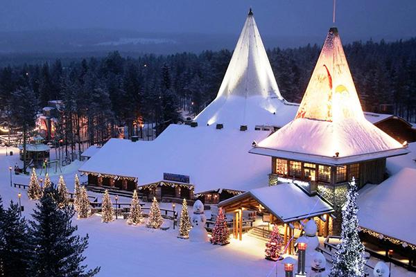 В Лапландию к Санта-Клаусу!